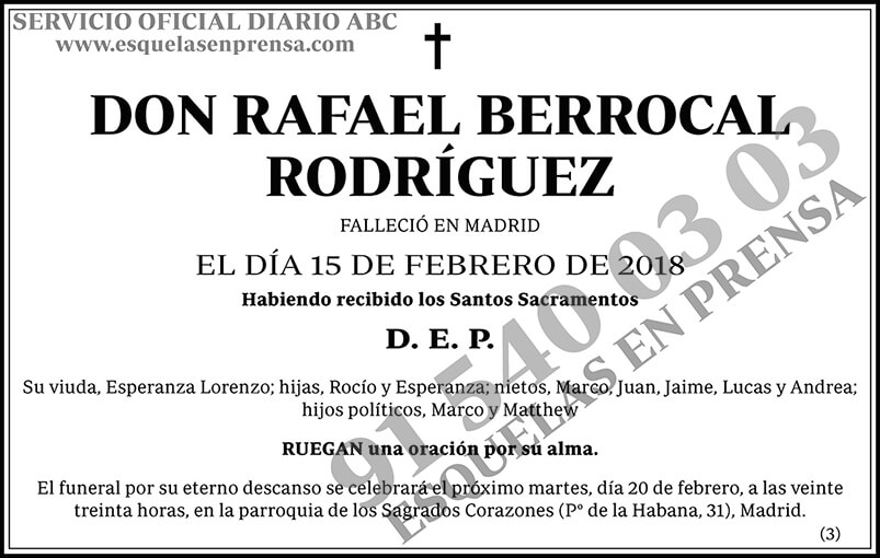 Rafael Berrocal Rodríguez